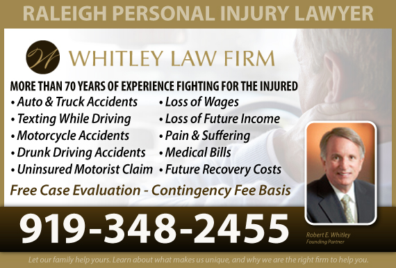 Exclusive Ad: Car Accidents Raleigh 8007855000 Logo