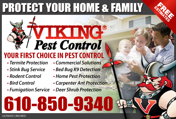 Exclusive Ad: Viking Pest Control-South Cape May Court House 8563239020 Logo