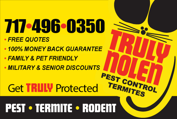 Exclusive Ad: Truly Nolen Termite and Pest Control New Holland 7174355171 Logo