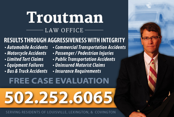 Exclusive Ad: Troutman Law Office Louisville 5026489507 Logo