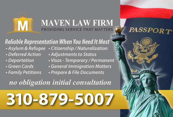 Exclusive Ad: Immigration Beverly Hills 3103630240 Logo