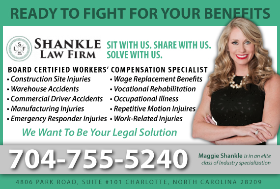 Exclusive Ad: Shankle Law Firm, P.A. Charlotte 7043701212 Logo