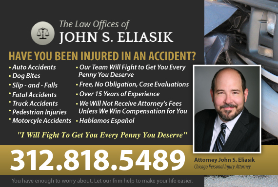 Exclusive Ad: Personal Injury Chicago 7737267322 Logo