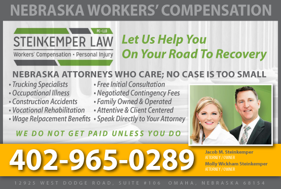 Exclusive Ad: Steinkemper Law, PC, LLO Omaha 4025049393 Logo