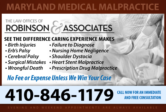 Exclusive Ad: Medical Malpractice Baltimore 4104841111 Logo