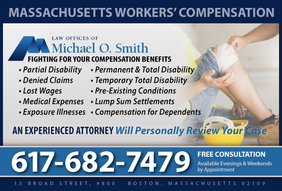 Exclusive Ad: Workers' Compensation Boston 7817892570 Logo