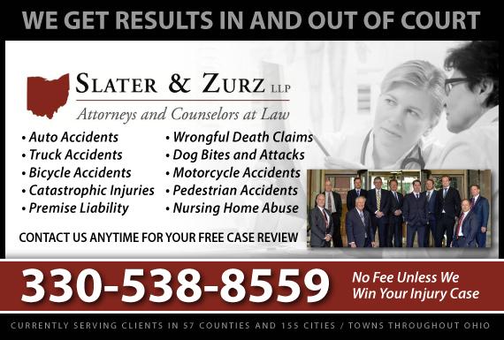Exclusive Ad: Slater & Zurz LLP Akron 3307620700 Logo