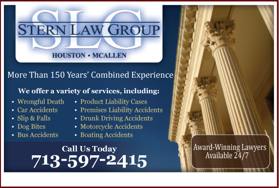 Exclusive Ad: Stern Law Group Bellaire 7136619900 Logo
