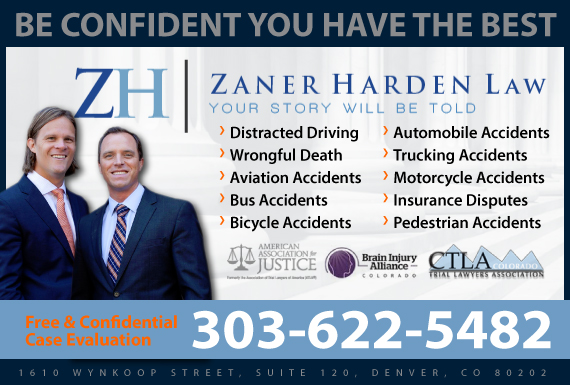 Exclusive Ad: Zaner Harden Law Denver 3035635354 Logo