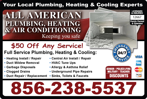 Exclusive Ad: Heating & Air Conditioning Sicklerville 6092900445 Logo