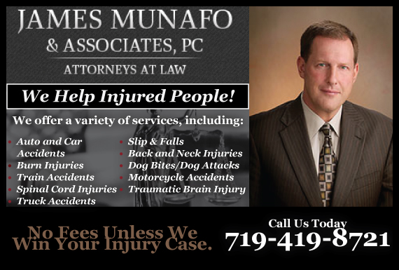 Exclusive Ad: James Munafo & Associates, P.C.- 719 Colorado Springs 3038057430 Logo