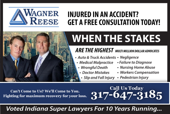 Exclusive Ad: Wagner Reese LLP  Carmel 3175690000 Logo