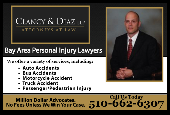 Exclusive Ad: Clancy & Diaz LLP Oakland 5105908894 Logo