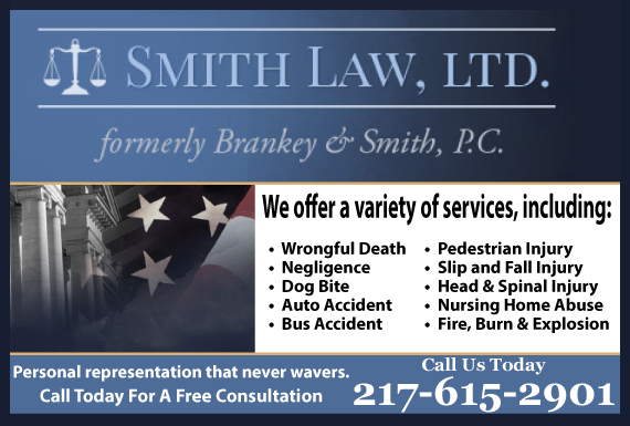 Exclusive Ad: Personal Injury Charleston 2173456222 Logo