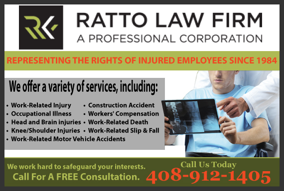 Exclusive Ad: Ratto Law Firm, P.C. San Jose 4082939300 Logo