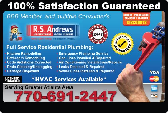 Exclusive Ad: Plumbing Atlanta 7704541800 Logo