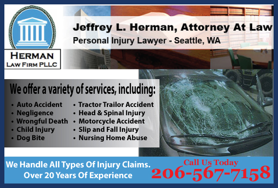 Exclusive Ad: Herman Law Firm PLLC Seattle 2065242400 Logo