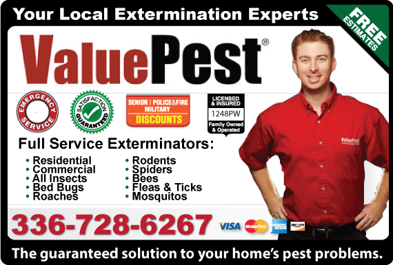 Exclusive Ad: ValuePest Of Guilford County Thomasville 3366531324 Logo