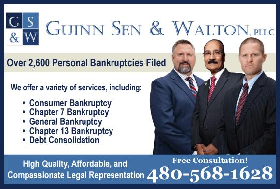 Exclusive Ad: Guinn Sen & Walton, PLLC Surprise 4808625072 Logo