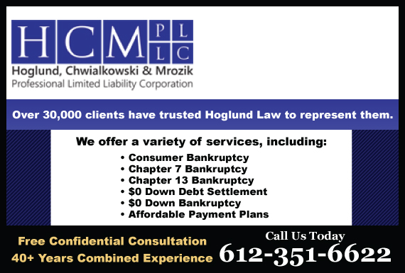 Exclusive Ad: Hennepin County- 612 Area Code Roseville 6516289929 Logo