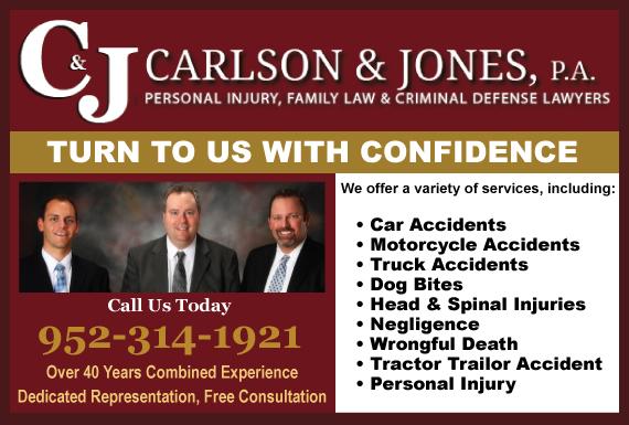Exclusive Ad: Scott County- 952 Area Code Buffalo 6127913334 Logo
