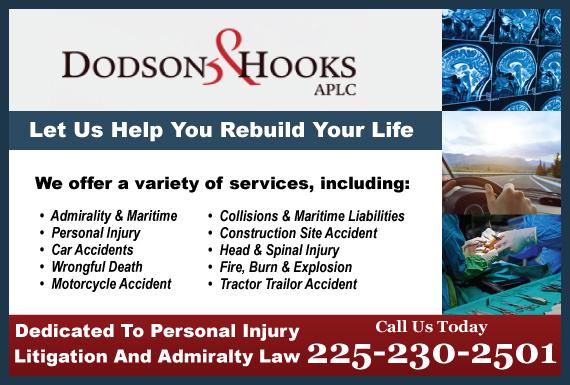 Exclusive Ad: Dodson & Hooks, APLC Baton Rouge 2257560222 Logo