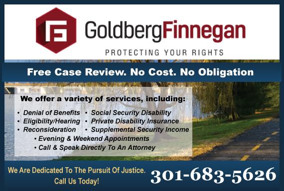Exclusive Ad: Social Security Disability Silver Spring 3015892999 Logo