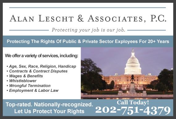 Exclusive Ad: Alan Lescht and Associates, P.C. Washington 2024636036 Logo