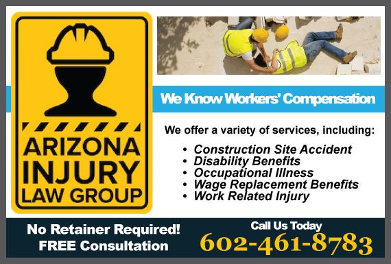 Exclusive Ad: Arizona Injury Law Group, PLLC Phoenix 6023469009 Logo
