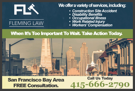 Exclusive Ad: Fleming Law San Francisco 8009303039 Logo
