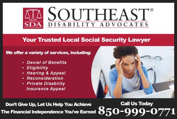 Exclusive Ad: Southeast Disability Advocates Destin 8508377021 Logo