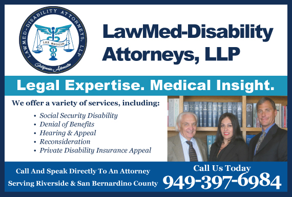 Exclusive Ad: Social Security Disability Riverside 9496298374 Logo