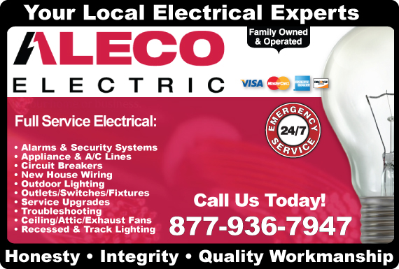 Exclusive Ad: Aleco Electric Winters 8448845511 Logo
