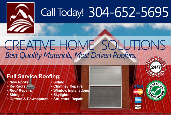 Exclusive Ad: Creative Home Solutions Groveport 3046343579 Logo
