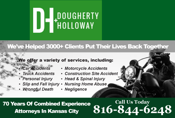 Exclusive Ad: The Law Offices of Dougherty & Holloway, LLC Kansas City 8168919990 Logo