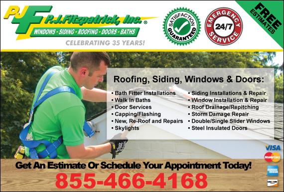 Exclusive Ad: P.J. Fitzpatrick, Inc. New Castle 8668725312 Logo