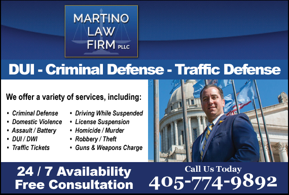 Exclusive Ad: The Martino Law Firm, PLLC Oklahoma City 4056393083 Logo
