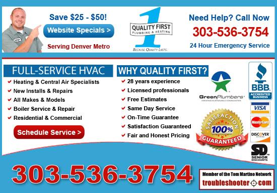 Exclusive Ad: Heating & Air Aurora 3039166226 Logo