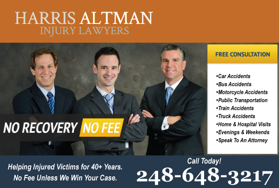 Exclusive Ad: Harris Altman Franklin 2485403100 Logo