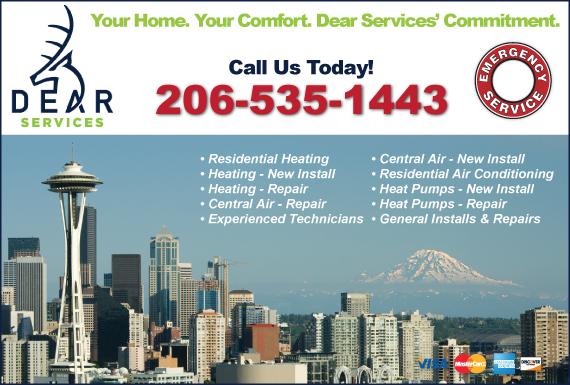 Exclusive Ad: HVAC Kent 2067357604 Logo
