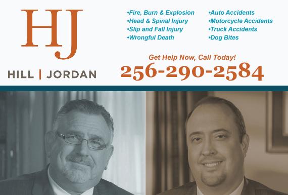 Exclusive Ad: Personal Injury Huntsville 2565344502 Logo