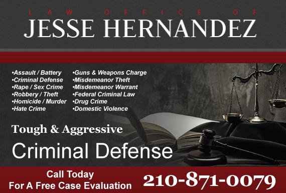 Exclusive Ad: Law Office Of Jesse Hernandez San Antonio 2108078656 Logo