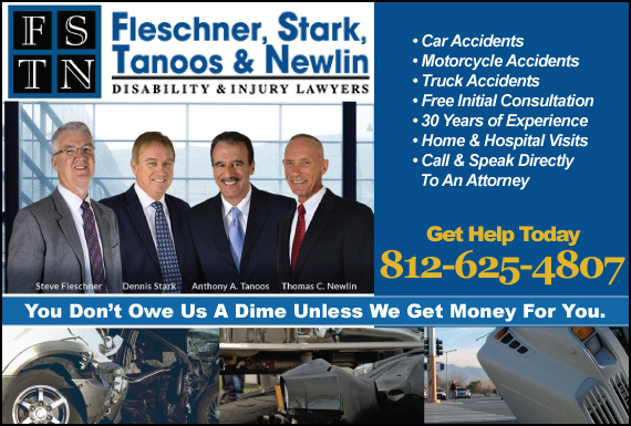 Exclusive Ad: Fleschner, Stark, Tanoos & Newlin Terre Haute 8128417610 Logo