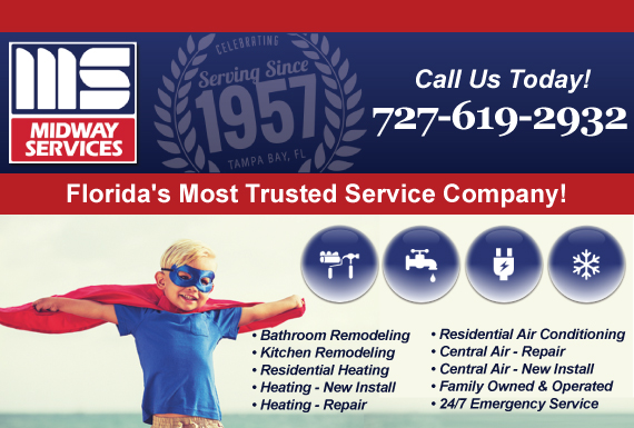 Exclusive Ad: HVAC, Bathroom and Kitchen Remodeling Clearwater 7275739500 Logo