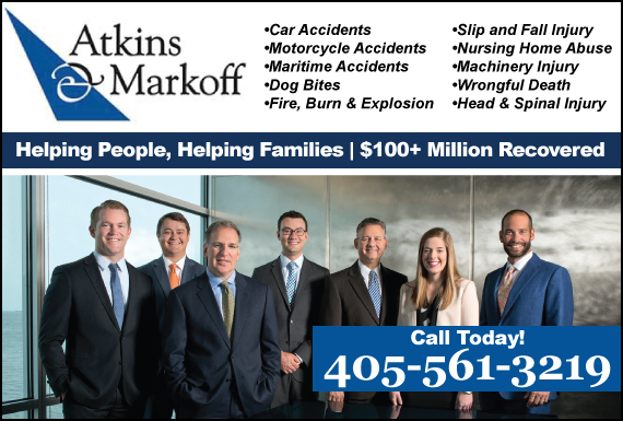 Exclusive Ad: Personal Injury Oklahoma City 4056078757 Logo