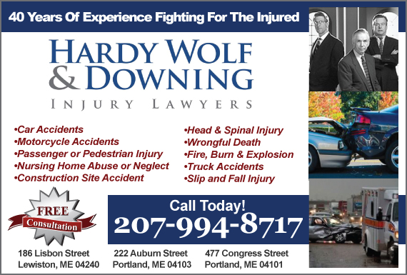 Exclusive Ad: Hardy Wolf & Downing Lewiston 2077841589 Logo