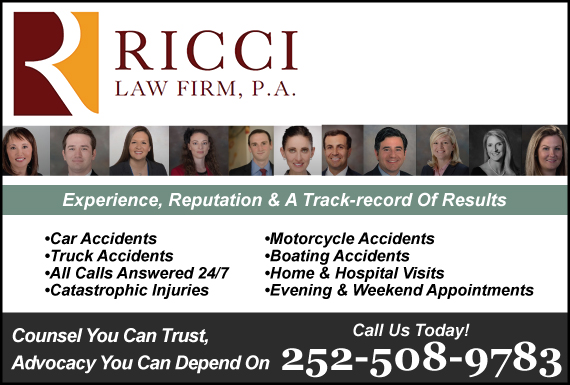 Exclusive Ad: Ricci Law Firm, P.A. Greenville 2522146722 Logo
