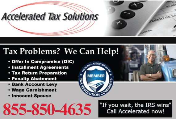 Exclusive Ad: Tax Law Jacksonville 7862337859 Logo