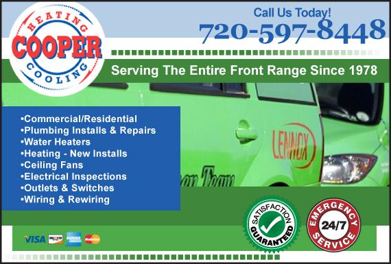 Exclusive Ad: Plumbing Colorado Springs 3034664209 Logo