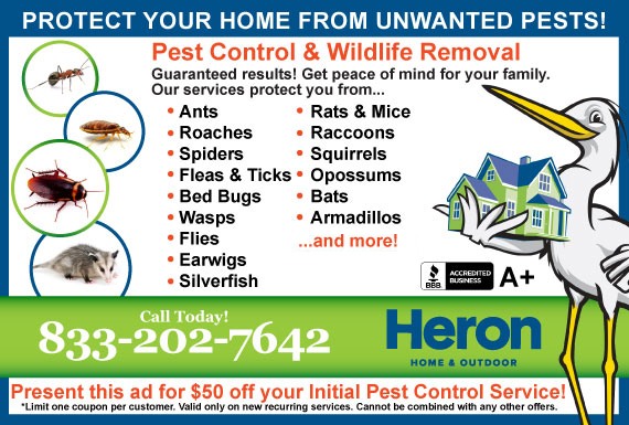 Exclusive Ad: Heron Home & Outdoor Reading 4074786915 Logo
